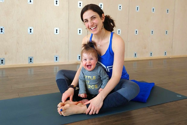 Mom + Baby Fit Series is a perfect gift for new moms this Mother's Day. - FREE SPIRIT YOGA + FITNESS + PLAY