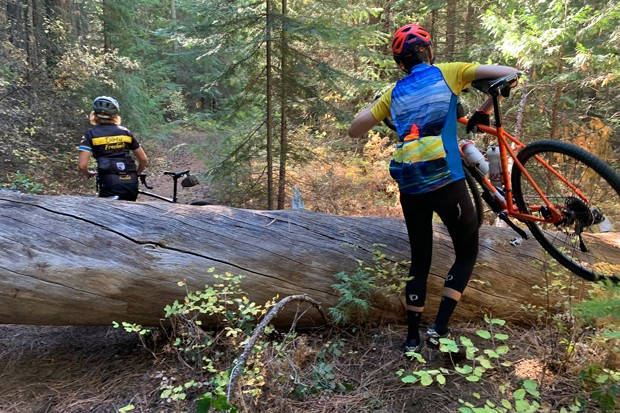 When riding wilderness, it's best to plan for the worst. - LINDA ENGLISH, DIRTY FREEHUB