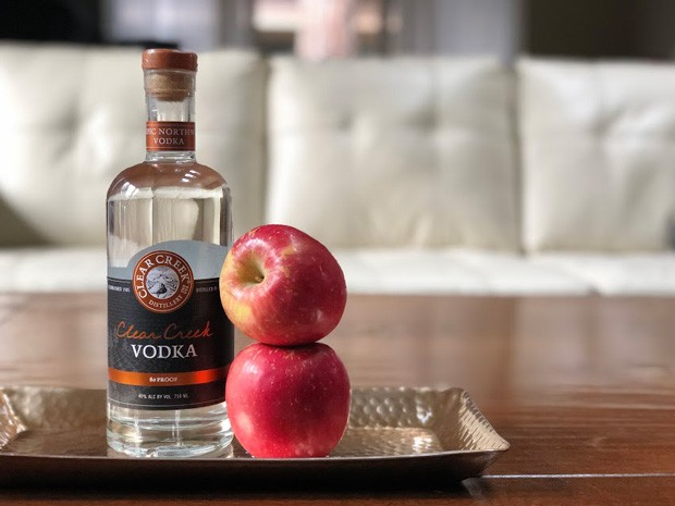 This vodka made from apples is not sweet and can still get down and dirty. - LISA SIPE