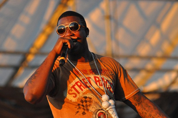Gucci Mane took the top honors with 313 songs that mention cannabis. - WIKIMEDIA/JASON PERSSE