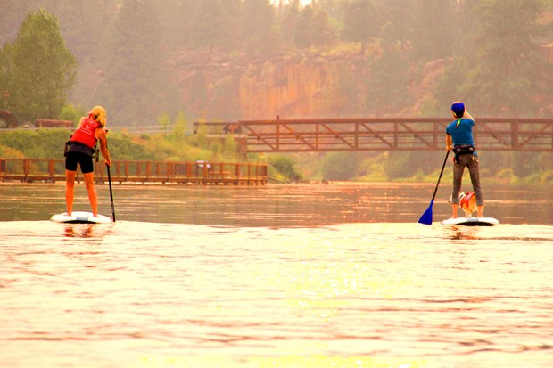 Participants can chill with a peaceful float. - TUMALO CREEK KAYAK & CANOE