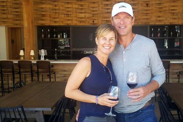 Maura and Drew Bledsoe at the new space in The Box Factory. - JUSTIN YAX