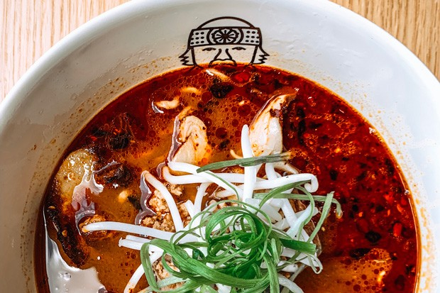 At Miyagi—whose name and logo are inspired by the character in The Karate Kid—the spicy pork miso with a soft-cooked egg is this writer's favorite! - NANCY PATTERSON