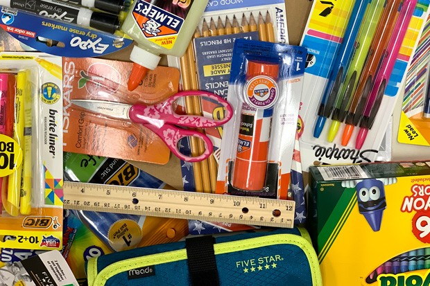 One way to reduce waste this school year: poring over last year's school supplies before buying more. - SUZANNE JOHNSON