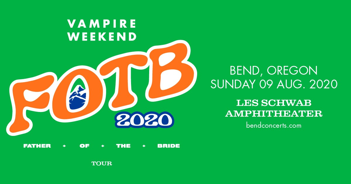 Gung Ho For Shows: Vampire Weekend | Upcoming Shows | Bend