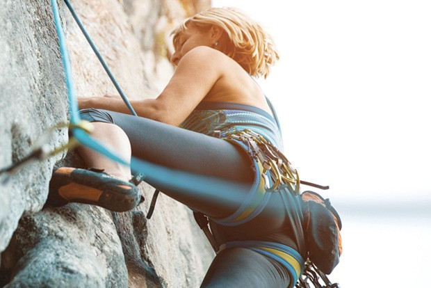 Women can get a leg up on adventure. - SUBMITTED