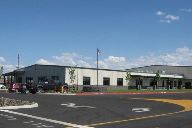 The new Central Oregon Truck building. - CITY OF REDMOND