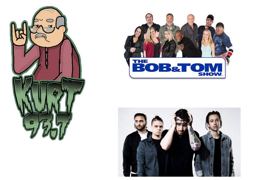 A screenshot from KURT's website Nov. 1, showing some of the programming featured on the station as of that date. - RADIOKURT.COM