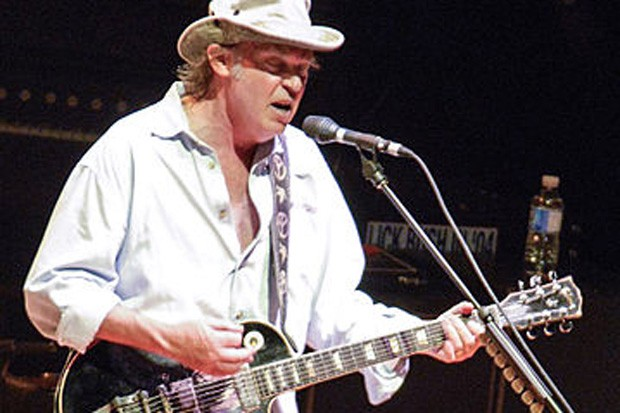 Neil Young performs at a Crosby Stills & Nash concert in Ottawa, Ontario, Canada. - WIKIMEDIA COMMONS, ADRIAN M. BUSS