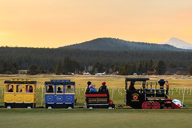 All aboard! Don't miss Grand Illumination at Sunriver Resort Nov. 23. - SUBMITTED