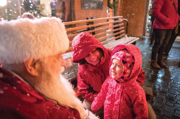 Meet Santa downtown Dec. 7, 14 & 21. - PHOTO BY MIGUEL EDWARDS