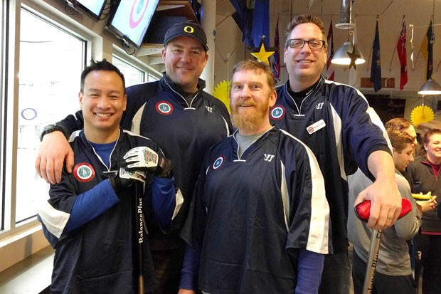 Members of the Bend Curling Club attend Nationals in Salt Lake City. - COURTESY BEND CURLING CLUB