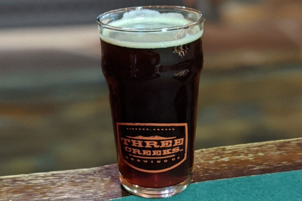 Chill Axe Winter Warmer at Three Creeks Brewing - HEIDI HOWARD