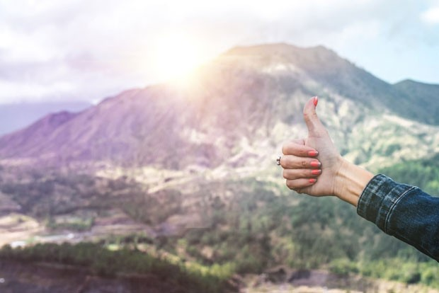 Thumbs up to inclusivity and respect in the outdoors! - UNSPLASH