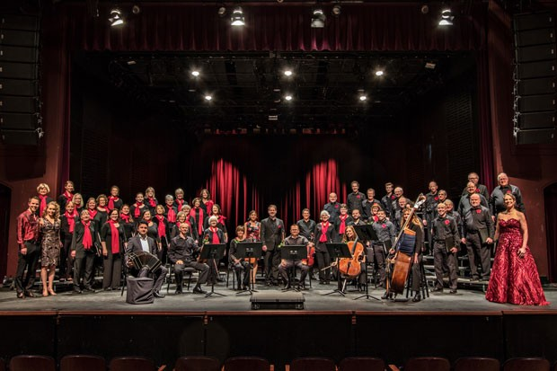 A new performing arts center will benefit groups like the Central Oregon Mastersingers pictured above. - STEVE MCBURNETT