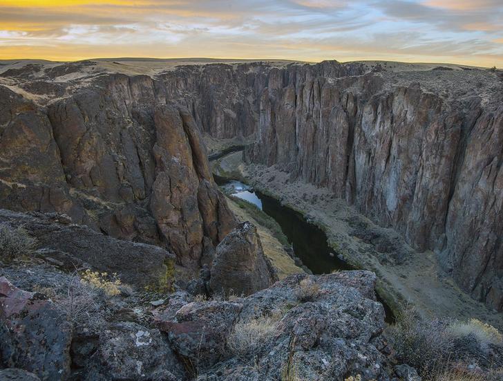 The Owhyee Canyon. - GREG BURKE