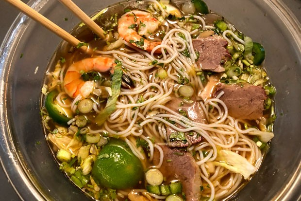 Why yes—the Bun Bo Hue at Pho House does taste as good as it looks. - NICOLE VULCAN