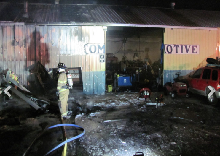 A fire at High Lakes Towing and Recovery in La Pine did extensive damage, but no one was injured... not even a (potentially) imaginary cat. - LA PINE RURAL FIRE DISTRICT