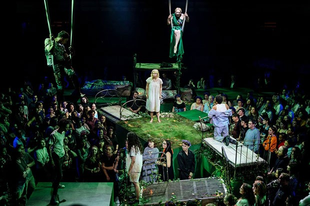 "The astounding production of ""A Midsummer Night's Dream"" from The National Theater. - COURTESY NATIONAL THEATER"