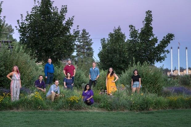 "The cast of ""Songs For a New World,"" who will perform at Les Schwab Amphitheater on Aug. 21. - MUSICAL IMPRESSIONS STUDIOS"