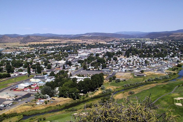 The view overlooking Prineville from Ochoco Park Lookout. - KRIS ARNOLD / WIKIMEDIA COMMONS