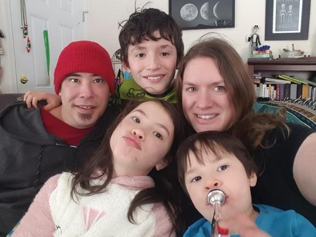 Keoni, Maeli, Kona, Tara and Kael Feurtado - SUBMITTED