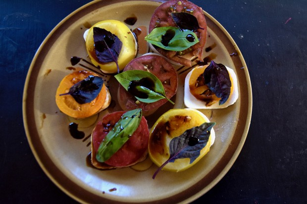 The ease of caprese is a sublime, summertime treat. - JAMIE DRYSDALE, BLUE COYOTE FARM