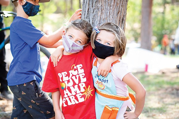 Kids get outside for an all-day program focused on nature themes at Camp Fire's Nature Days. - COURTESY CAMP FIRE