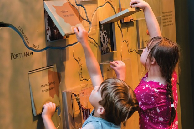 Kids love to explore the museum exhibits during quiet times or Wonder Wednesdays. - COURTESY HIGH DESERT MUSEUM