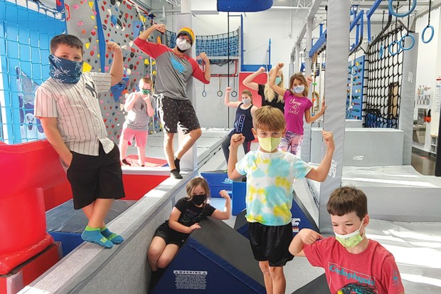 Make new friends at Ninja Warrior full and half day camps. - COURTESY FREE SPIRIT YOGA + FITNESS + PLAY