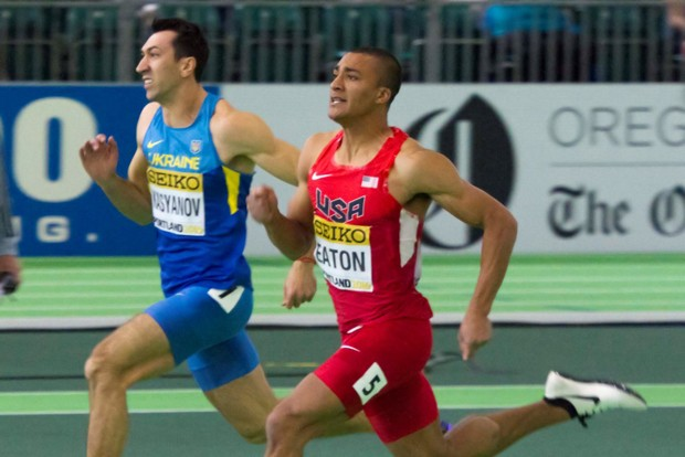Ashton Eaton, with roots in La Pine and Bend, went on to become a record-holding Olympian. - FILIP_BOSSUYT / WIKIMEDIA COMMONS
