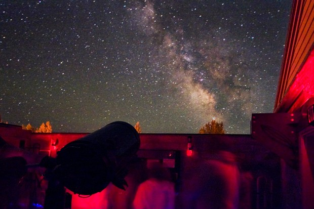 During your visit, catch a glimpse of the solar systems and stars above us at the Sunriver Nature Center's Starport. - COURTESY SUNRIVER NATURE CENTER\