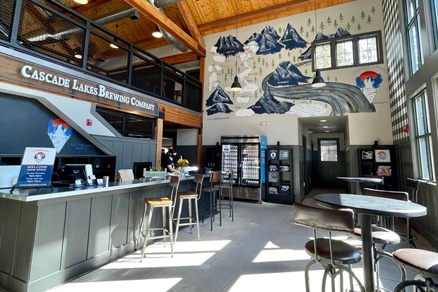 Cascade Lakes is open again with a new look, menu and brewmaster. - COURTESY CASCADE LAKES BREWING