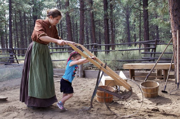 Come out to the ranch and help hand plow the garden, plant potatoes and learn how they get their seeds at the High Desert Museum. - COURTESY HIGH DESERT MUSEUM