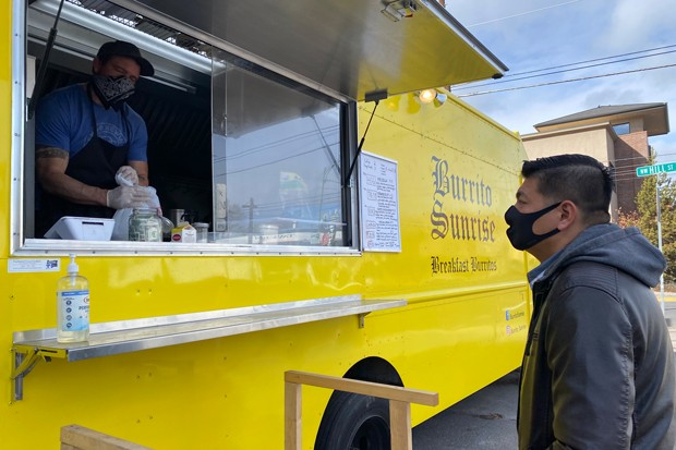Source staffer Ban Tat gives his stamp of approval on this breakfast burrito spot. - NICOLE VULCAN