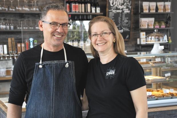 Kamal and Miki Bakkari never planned to open a restaurant. - DARRIS HURST