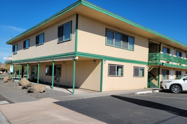 The Greenway Motel, located on 517 Birch Ave. in Redmond, will open as Bethlehem Inn's next shelter in mid- to late-July. - COURTESY GWENN WYSLING