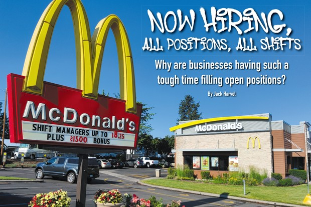 McDonalds offers a $1,500 bonus and an hourly wage as high as $18.25. - JACK HARVEL