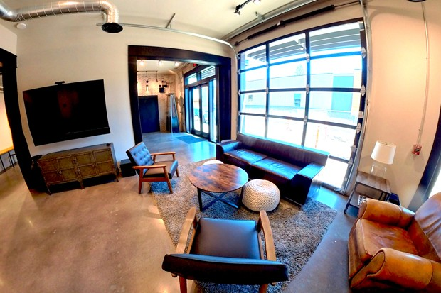 Just one of the many different sides of Open Space Event Studios. - COURTESY LEAH RUTZ