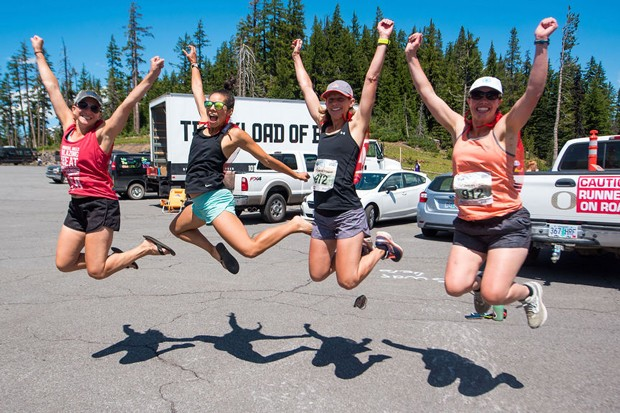 Grab your buds and get running. Cascades Lakes Relay has two fun options to run and build community this year. - COURTESY CASCADES LAKES RELAY