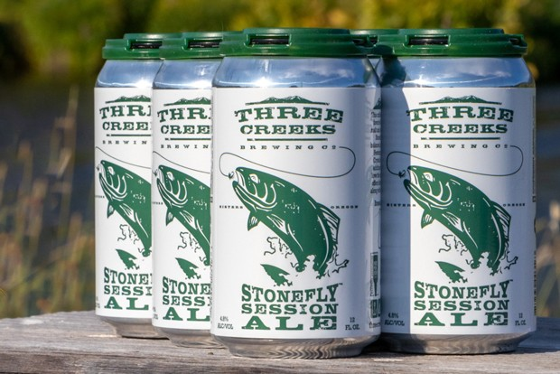 Three Creeks Brewing Stonefly Session Ale. - COURTESY THREE CREEKS BREWING