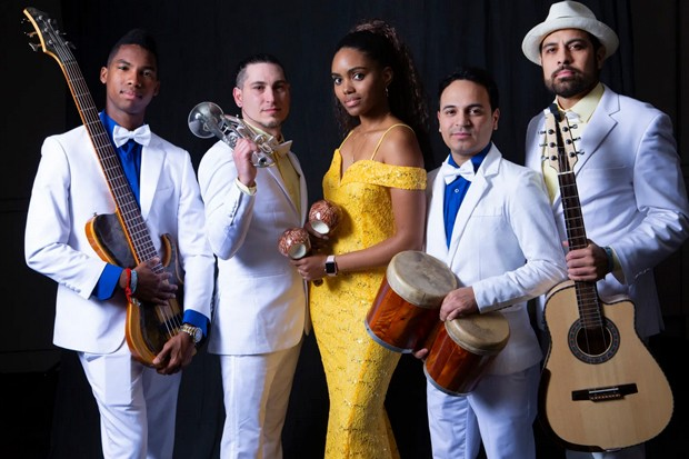Changüí Majadero brings its Cuban changüí sound to the Sisters Saloon Saturday night, along with performances Friday night and Saturday afternoon on the Oliver Lemon's stage, and a Sunday afternoon performance at the Village Green. - COURTESY CHANGUI MAJADERO