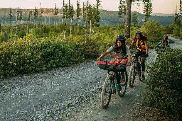 The Oregon backcountry stars in one film. - COURTESY FILM STILL PEDAL THROUGH
