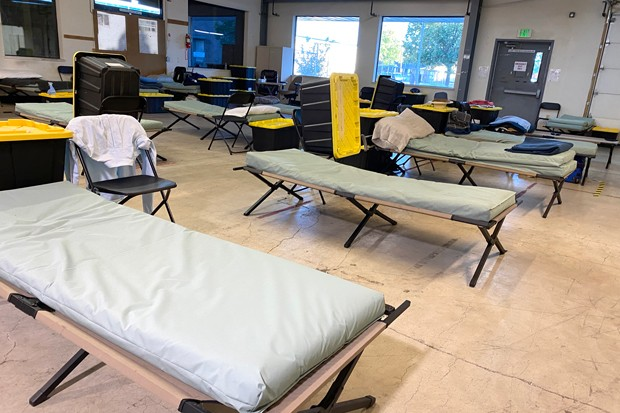 Up to 70 people can stay at the Shepherd House Second Street shelter. - NICOLE VULCAN