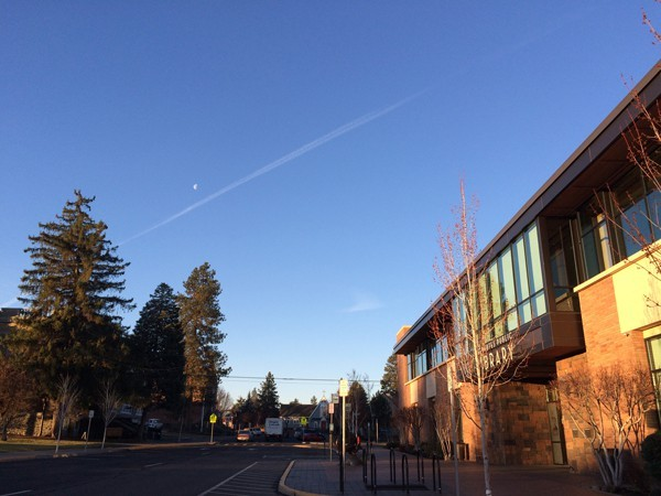 Deschutes Public Library campuses will go smoke-free in January 2016.