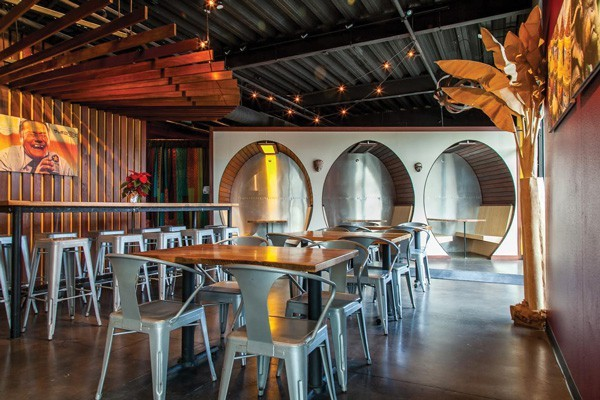 Spork sprouts a fresh, modernistic look provided by local designers and builder.