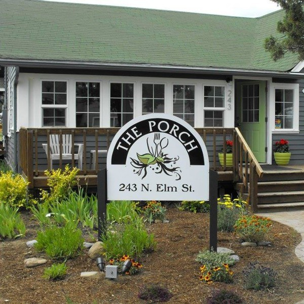 The Porch in downtown Sisters offers tasty comfort food in a warm atmosphere.