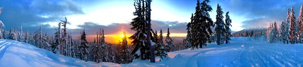 Chris Larro checked out some new zones and an even better sunset near Kwohl Butte this past weekend.