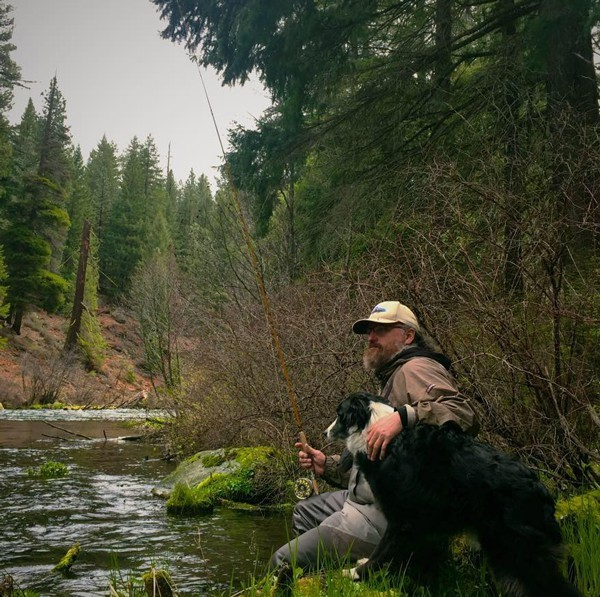 Local caster Gabe Parr and a buddy get out for some seasonal fishing.