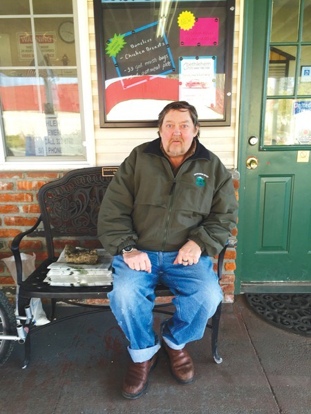 Jim Vistad, a former cook, is living at the Bethlehem Inn while he searches for affordable housing.